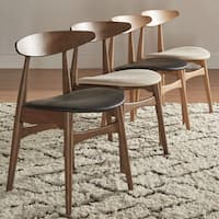 Norwegian Danish Tapered Dining Chairs (Set of 2) by iNSPIRE Q Modern