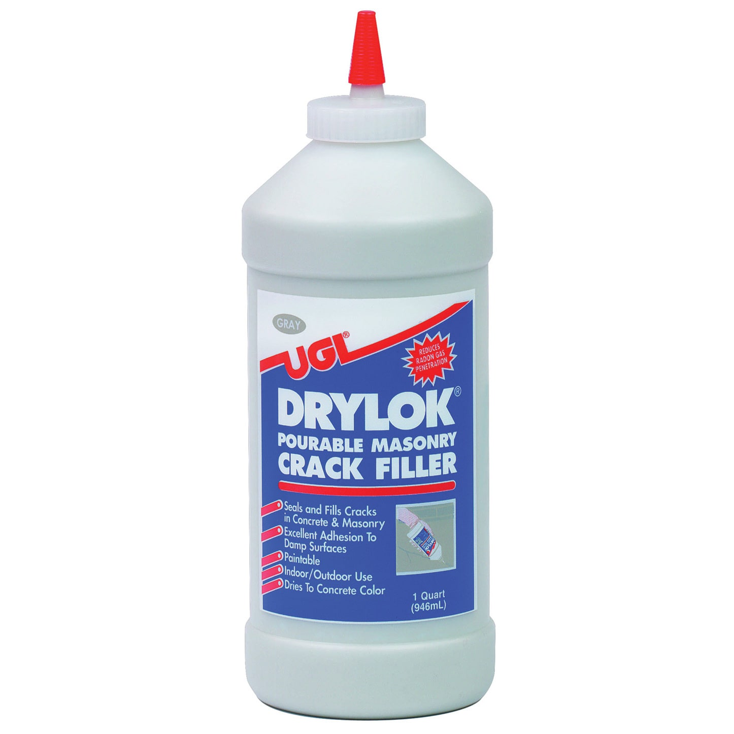 United Gilsonite Laboratories 30512 1 Quart Gray Drylok P...