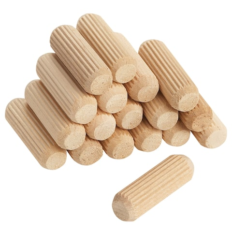 """Vermont American 17111 3/8"""" X 1-1/2"""" Fluted Dowel Pins 30-count"""