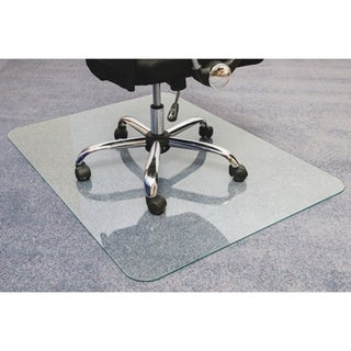 Cleartex Glaciermat Glass Chair Mat - Clear