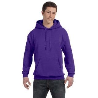 Men's Comfortblend Ecosmart 50/50 Purple Pullover Hood (XL)