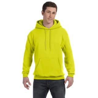 Men's Comfortblend Ecosmart 50/50 Safety Green Pullover Hood|https://ak1.ostkcdn.com/images/products/12417798/P19236114.jpg?impolicy=medium