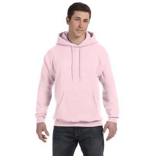 Men's Comfortblend Ecosmart 50/50 Pale Pink Pullover Hood (XL)