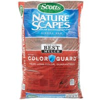 Scott feets 88402440 2 Cu Ft Sierra Red Nature Scapes Color Enhanced Mulch