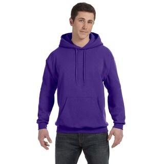 Men's Comfortblend Ecosmart 50/50 Purple Pullover Hood
