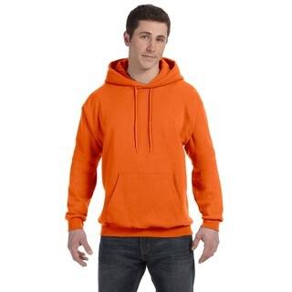 Men's Comfortblend Ecosmart 50/50 Orange Pullover Hood