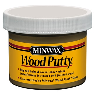 Minwax 13613 3.75 Oz Mahogany Wood Putty
