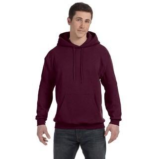 Men's Comfortblend Ecosmart 50/50 Maroon Pullover Hood