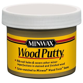 Minwax 13616 3.75 Oz White Wood Putty