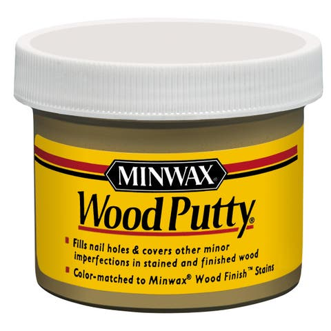 Minwax 13617 3.75 Oz Walnut Wood Putty