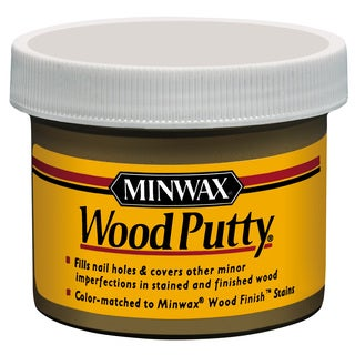 Minwax 13618 3.75 Oz Ebony Wood Putty