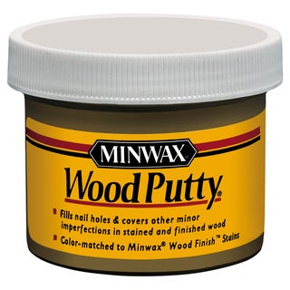 Minwax 13619 3.75 Oz Pickled Oak Wood Putty