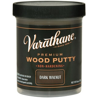 Varathane 223254 3.75 Oz Dark Walnut Wood Putty