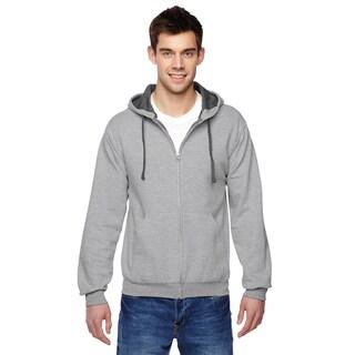 Men's Sofspun Full-Zip Hooded Sweatshirt Athletic Heather Pullover Hood