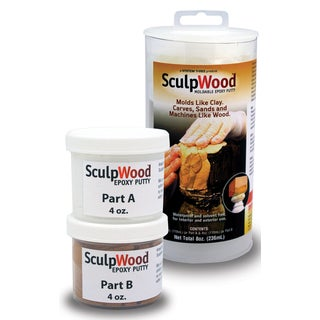 System Three 1600K10 8 Oz SculpWood Epoxy Putty Kit 2-count