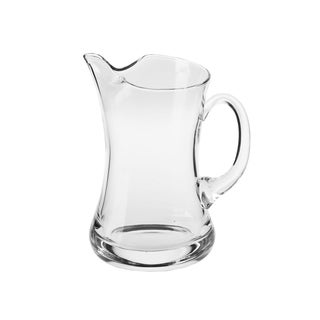 Krosno Charlie Handmade Clear Glass 40-ounce Pitcher