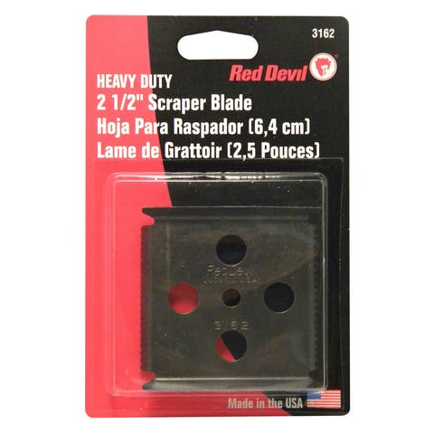 "Red Devil 3162 2-1/2"" Four-Edge Scraper Blade"