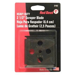 "Red Devil 3162 2-1/2"" Four-Edge Scraper Blade"