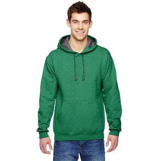Men's Sofspun Hooded Clover Sweatshirt