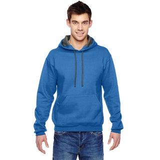 Men's Sofspun Hooded Royal Sweatshirt