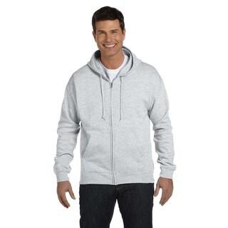 Men's Comfortblend Ecosmart 50/50 Ash Full-Zip Hood