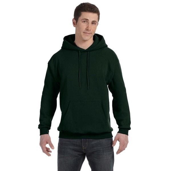 Men's Comfortblend Ecosmart 50/50 Deep Forest Pullover Hood (XL)