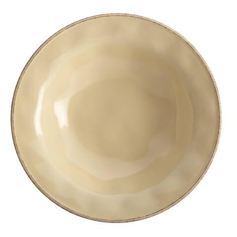 Rachael Ray Cucina Dinnerware 10-Inch Stoneware Round Serving Bowl