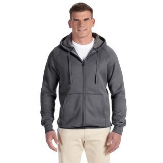 Men's Nano Full-Zip Hood Charcoal Heather Pullover Hood (XL)