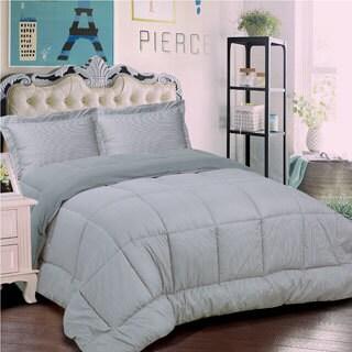 Loft Collection 3-piece Classic Stripe Comforter Set
