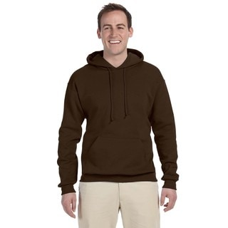 Men's 50/50 Nublend Fleece Chocolate Pullover Hood (XL)