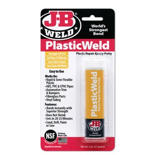 JB Weld 8237 2 Oz KwikPlastik Epoxy Putty Stick