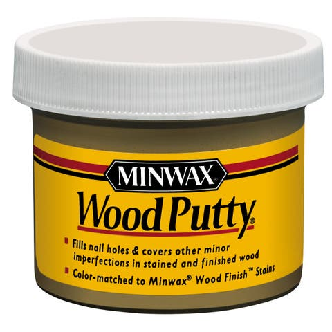 Minwax 13611 3.75 Oz Golden Oak Wood Putty