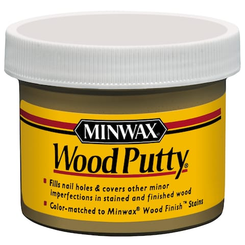 Minwax 13612 3.75 Oz Maple Wood Putty