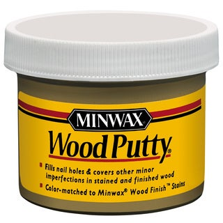 Minwax 13612 3.75 Oz Maple Wood Putty