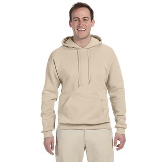 Men's 50/50 Nublend Fleece Sandstone Pullover Hood (XL)()