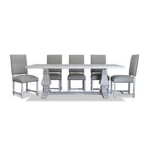 "Toscana Dining Set: 72"" Rectangular Dining Table, 6 Pacifica Chairs"