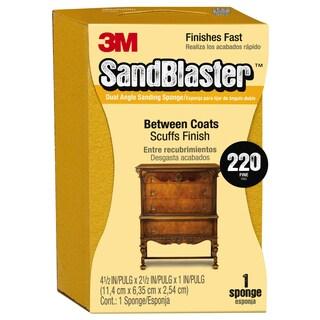 "3M 9565 2-1/2"" X 4-1/2"" X 1"" 220 Grit Sanding Sponge"
