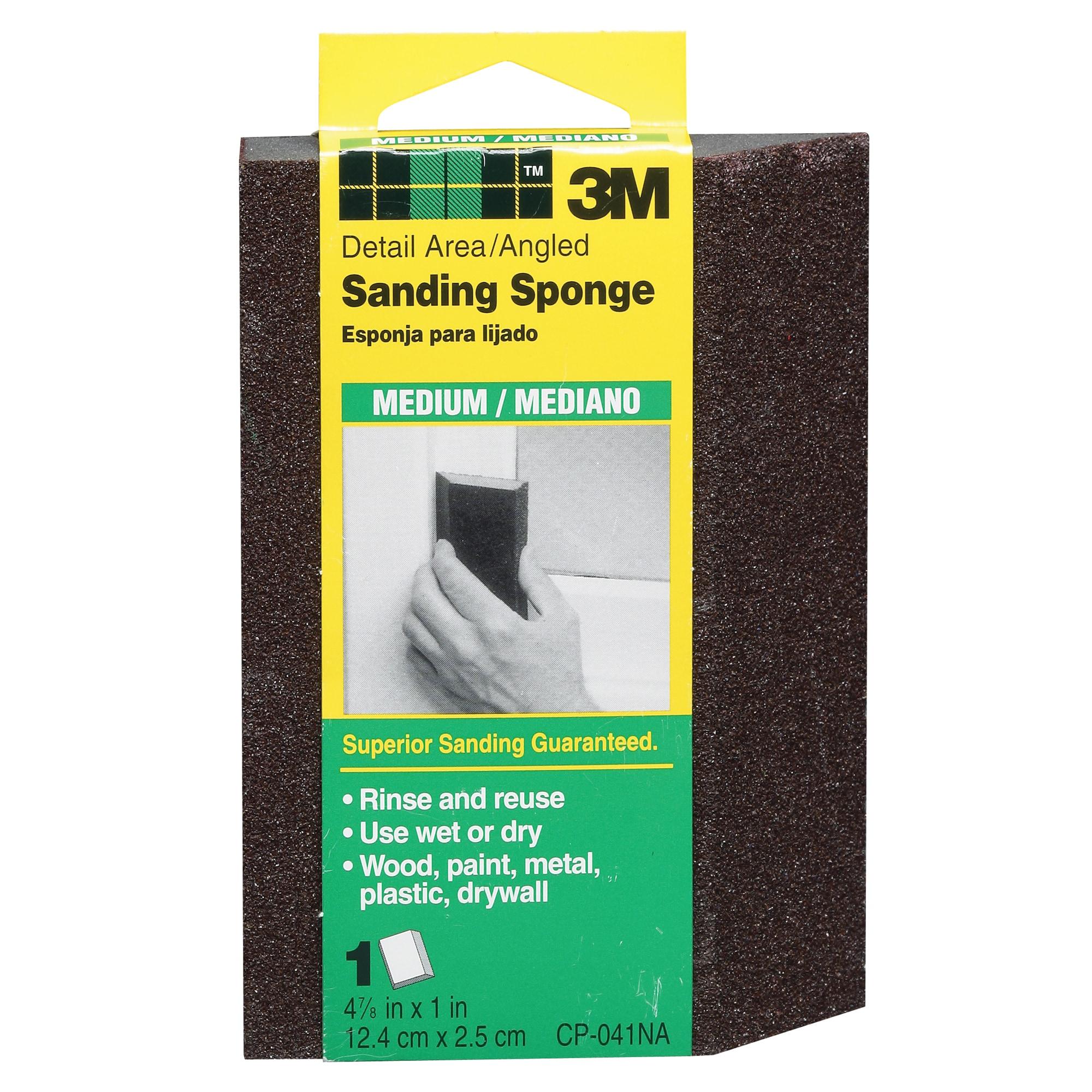 3M CP-041 Medium Detail Sanding Sponges (Hand Sanders & P...