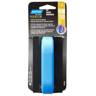 Norton 82088 120 Grit 5X Sponge With Handle