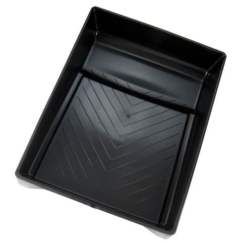 "Gam PT09027 9"" Black Plastic Paint Tray"