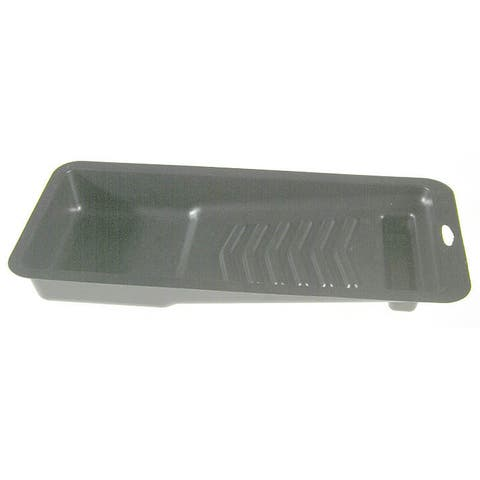 "Shur Line 12050C 4"" Black Plastic Paint Tray"