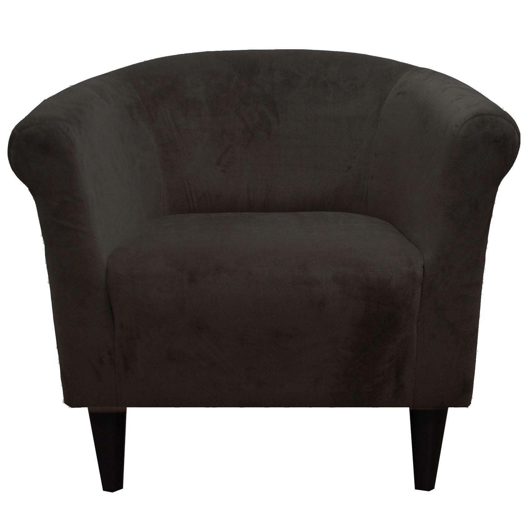 Superbe Microfiber Accent Chair