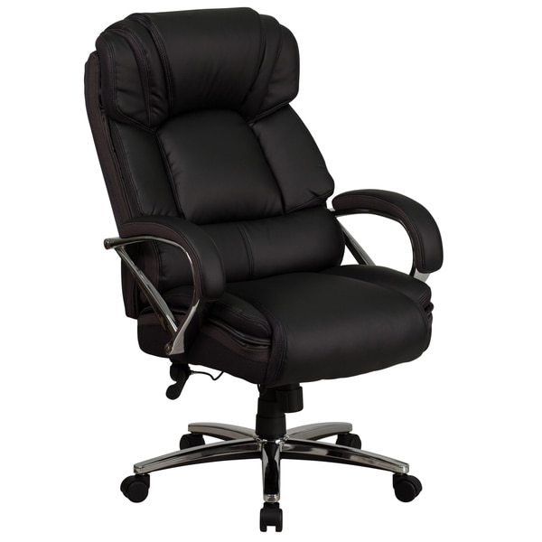 shop big tall leather chair free shipping today overstock com