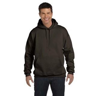 Men's Ultimate Cotton 90/10 Pullover Dark Chocolate Hood