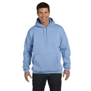 Men's Ultimate Cotton 90/10 Pullover Light Blue Hood