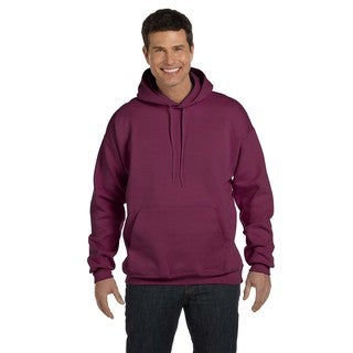 Men's Ultimate Cotton 90/10 Pullover Maroon Hood