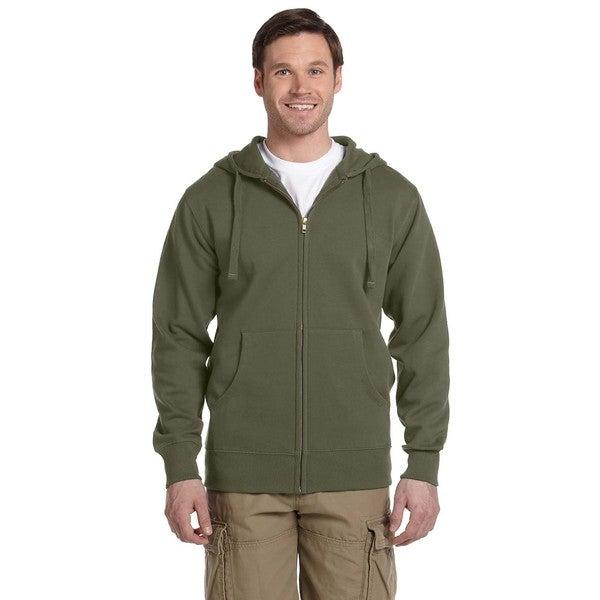 Men's /Recycled Full-Zip Jungle Hood