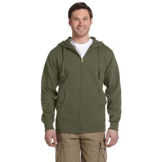 Men's Organic/Recycled Full-Zip Jungle Hood