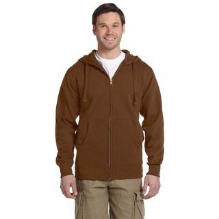 Men's /Recycled Full-Zip Legacy Brown Hood (XL)