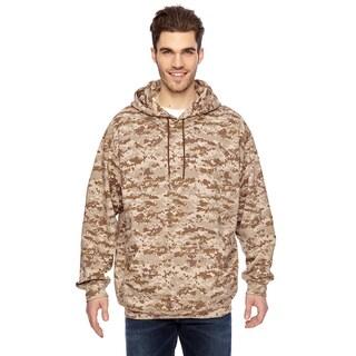 Camouflauge Men's ed Sweatshirt Sand Digital Pullover Hood (XL)